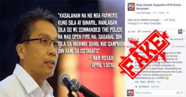 What Did Mar Roxas Really Say About the Kidapawan Incident?