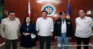 Unprecedented meeting of 5 PH Presidents over The Hague ruling
