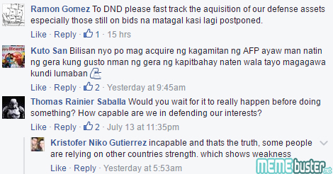 Comments on AFP Red Alert