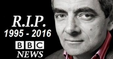 Busted: Rowan Atkinson, best known as Mr. Bean, is very much alive!