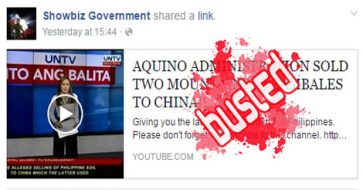 Busted: Ebdane, not Aquino, accused of selling Zambales mountains to China; incident still under investigation