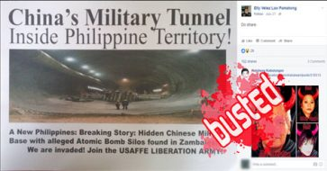 Busted: Chinese military tunnel in PH? It's actually Switzerland's Gotthard Base Tunnel