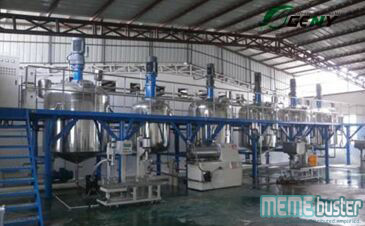 Arayat Shabu Lab Paint Mixing Plant