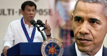 Duterte threatens to curse Obama if he brings up PH killings; Obama calls him a 'colorful guy'