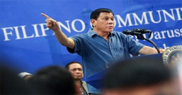 Duterte: You can't expect me to jet ski to Scarborough but we won't give up anything there