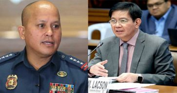 Image result for lacson ronald dela rosa