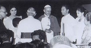 Marcos tried to claim he saved Pope Paul VI's life during failed assassination