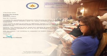 LOOK! VP Leni's resignation letter: 'Remaining in your Cabinet has become untenable'