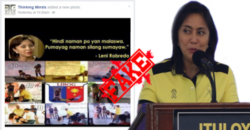 Busted: Leni Robredo's Statement on Sexy Dance Event in Laguna