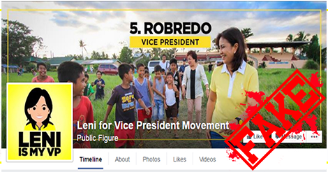 Leni Vice President Movement