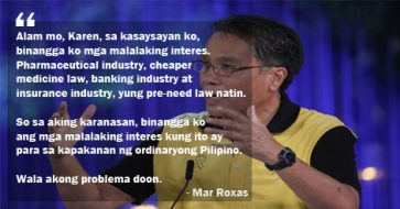Busted: 3rd Presidential Debate Questions Not Leaked, Mar Roxas' Answers Not Scripted