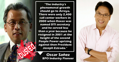 Mar Roxas Father of BPO Industry in Philippines