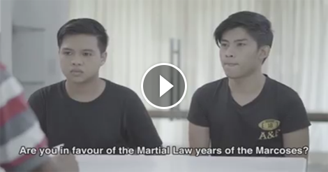 What Millennials Think of Martial Law Before, After Meeting Human Rights Victims
