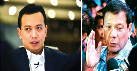 Duterte Denies, Then Admits Existence of BPI Account Exposed By Trillanes
