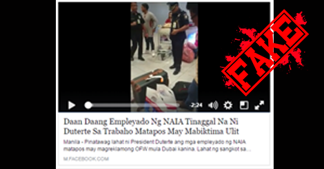 Duterte-Fire-NAIA-Employees