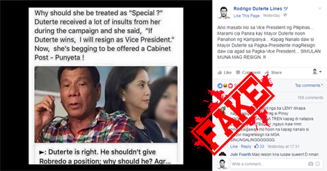 Leni Robredo not Resign
