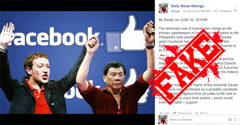 Zuckerberg didnt escape duterte supporters