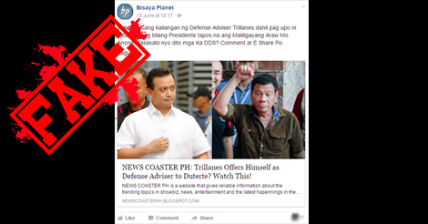 Trillanes Defense Adviser