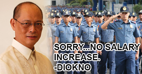 Doubled AFP PNP Salary