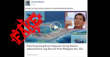 Busted: Duterte won case over West Philippine Sea? It was Aquino who brought China to court!