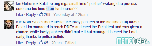 Comments on Duterte with Peter Lim