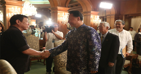 Duterte Bilateral Talks China