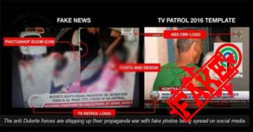 Busted: News about Duterte death squad killing an innocent family is fake!