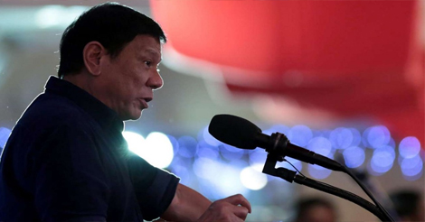 Duterte Over Chinese Drug Lords
