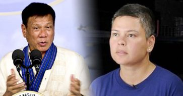 Duterte calls for peace, reveals he stopped daughter Sara from going to Panatag