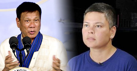 Duterte Stopped Daughter Sara
