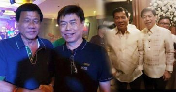 Here are the compiled photos of Duterte with Peter Lim