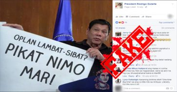 Busted: Editing spree of Duterte's photo holding his infamous list of officials linked to drugs