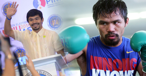 Manny Pacquiao Comeback Fight