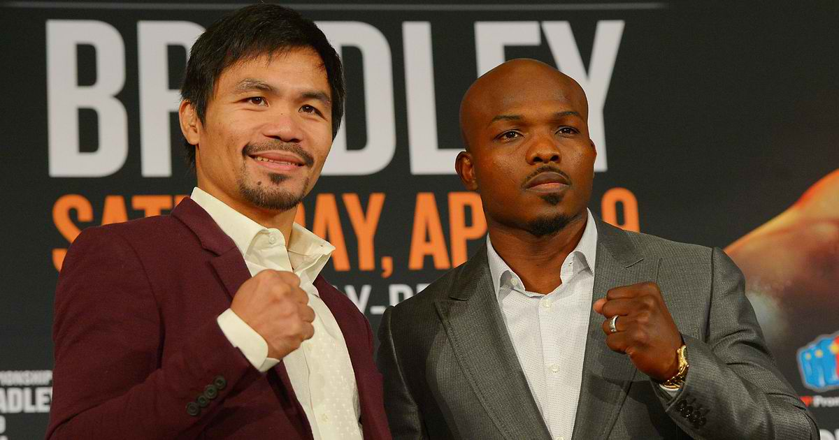 Manny Pacquiao versus Timothy Bradley