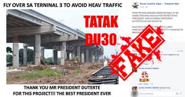 "Busted: Netizen credit-grabbed MM Skyway built over several admins with 'Tatak DU30"" meme"