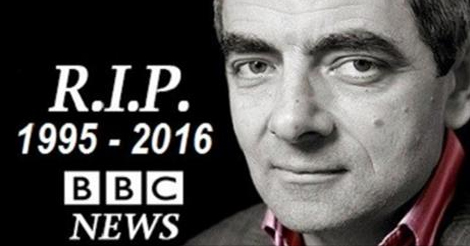 rowan atkinson best known as mr bean is very much alive