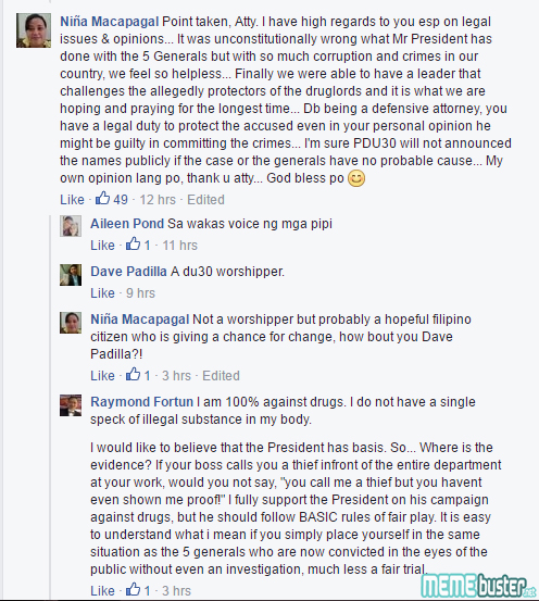 Raymond Fortun Post Comments on Trial by Publicity