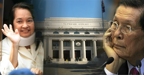 SC Judges Voted Arroyos Acquittal and Enrile's Bail