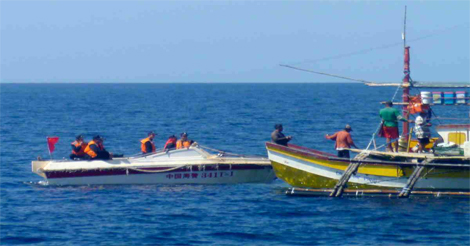 China Threatens Illegal Fishers