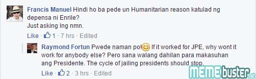 Comments on Duterte Cant Be Jailed