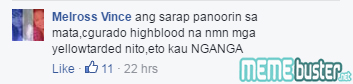 Comments on Edited UP Rally Supports Duterte