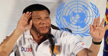 Duterte claims he was just joking when he threatened to leave UN