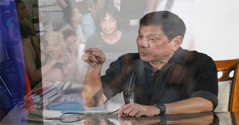 Duterte on Drug Users