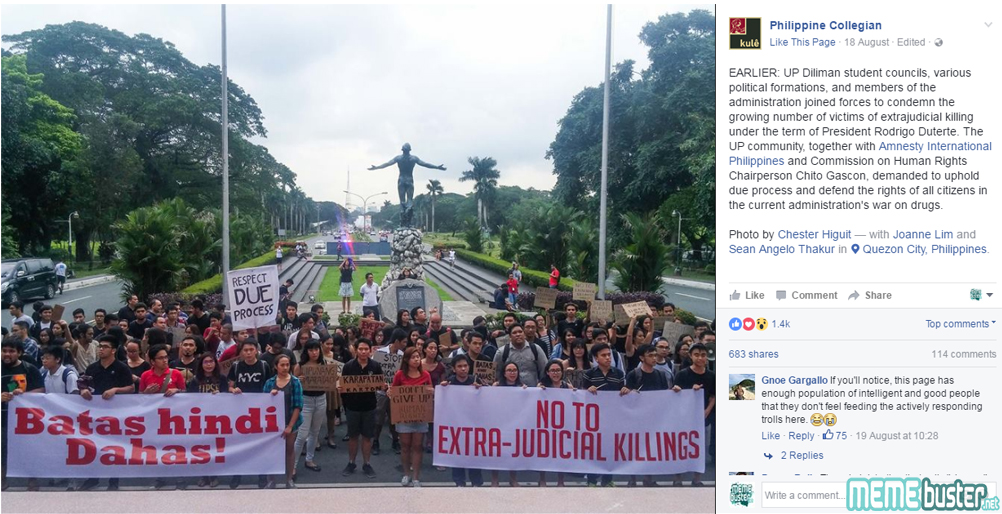 Edited UP Rally Supports Duterte