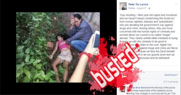 Busted: Duterte's spox Peter Lavina 'lies' using foreign victim's photo after claiming crime happened in PH