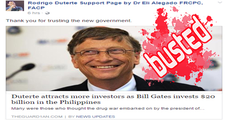 Bill Gates Investing in PH