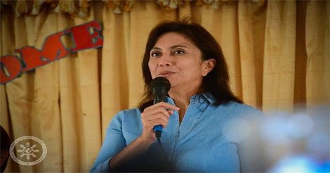 Robredo on Martial Law