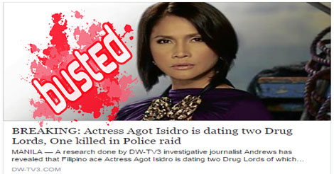 Agot Isidro Dating Drug Lords