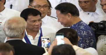 Duterte to focus on strengthening ties with China, sets aside maritime dispute
