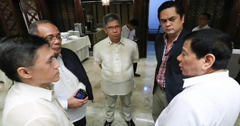 Duterte Team Should Act Together